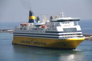 Die Mega Smeralda - die neue Fähre von Corsika-Ferries