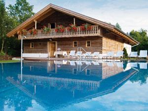 Hotel 'Drei Quellen Therme': Saunastadl-PoolSauna Stadl