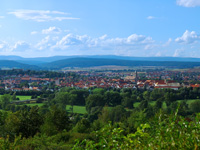 Reisen in der Rhön: Panorama Bad Neustadt